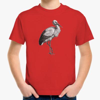 Детская футболка Аист