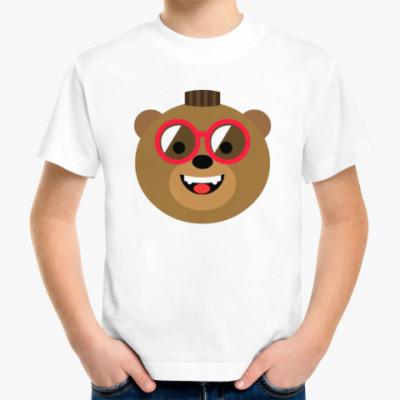 Детская футболка Медведь Браун