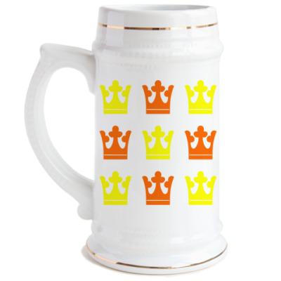 Пивная кружка Корона