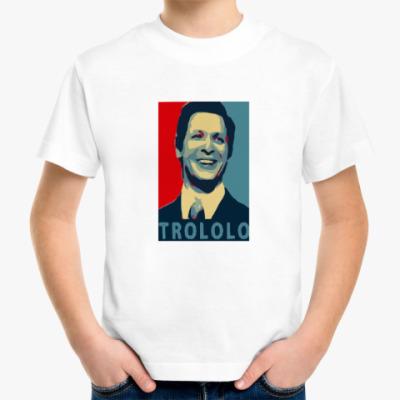 Детская футболка Mr.Trololo