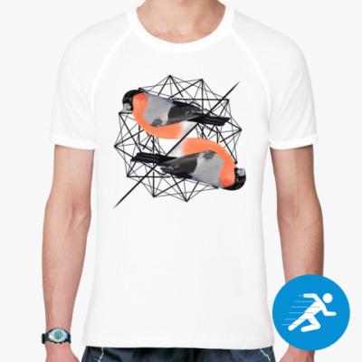 Спортивная футболка Синички