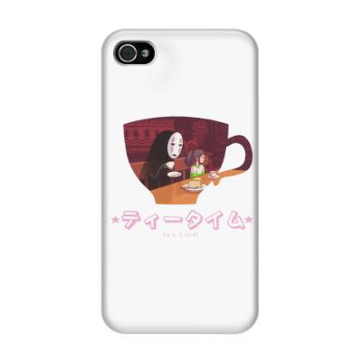 Чехол для iPhone 4/4s Время пить чай! - tea time