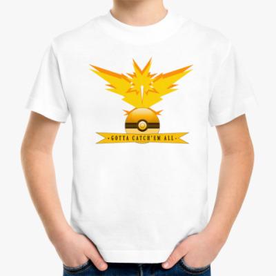 Детская футболка Pokemon GO/Покемон ГО/INSTINCT child