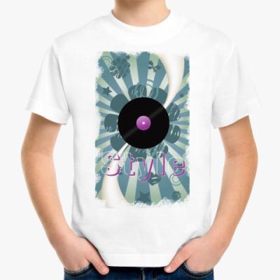 Детская футболка style