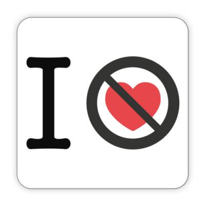 Костер (подставка под кружку) 10 лет без любви