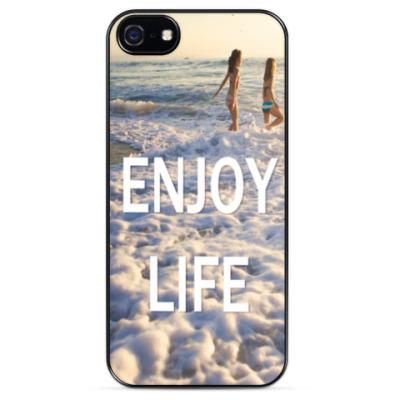 Чехол для iPhone Наслаждайся жизнью