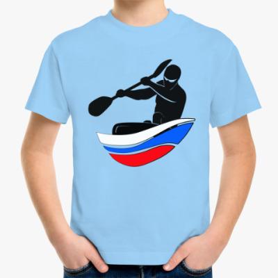 Детская футболка Байдарка