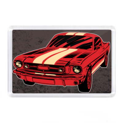 Магнит Mustang