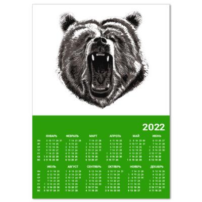 Календарь Медведь
