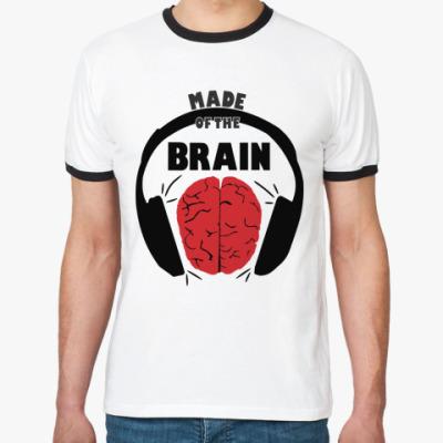 Футболка Ringer-T Вынос мозга