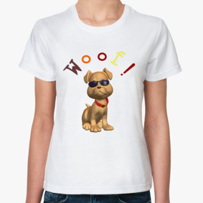 Классическая футболка Woof!