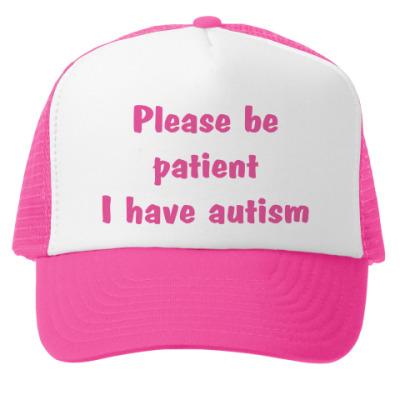 Кепка-тракер Аутизм Autism