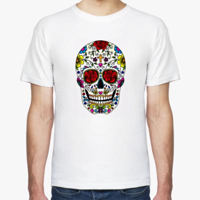Футболка  футболка Череп
