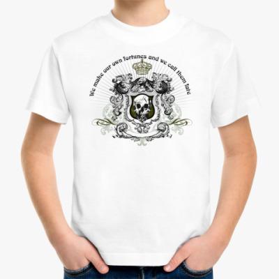 Детская футболка skull fortune6