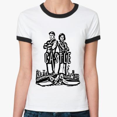 Женская футболка Ringer-T Касл