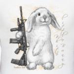 Маленький белый зайчик