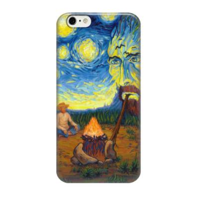 Чехол для iPhone 6/6s Ван Гог курит ночь