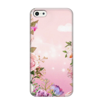 Чехол для iPhone 5/5s цветочное небо