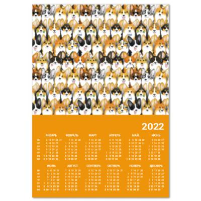 Календарь Много корги