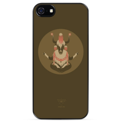 Чехол для iPhone Animal Zen: Y is for Yak