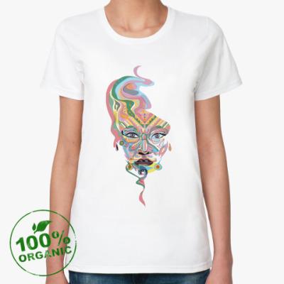 Женская футболка из органик-хлопка Волшебный дух
