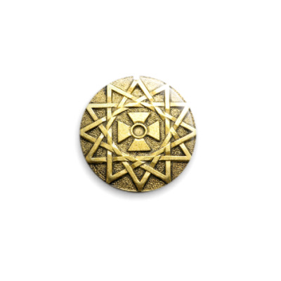 Значок 25мм Звезда Эрцгаммы