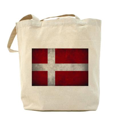 Сумка  'Датский флаг'