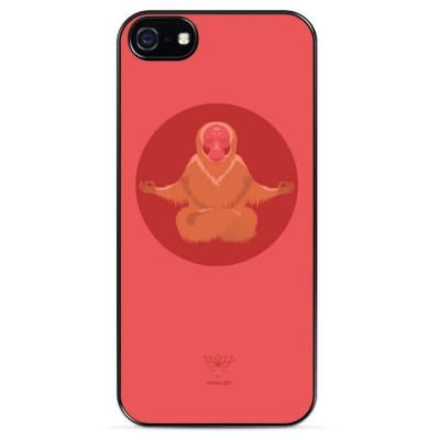 Чехол для iPhone Animal Zen: U is for Uakari
