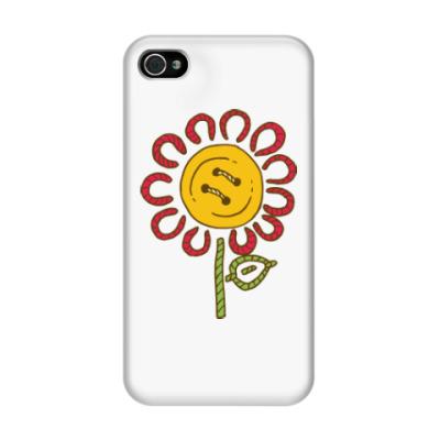 Чехол для iPhone 4/4s Цветок