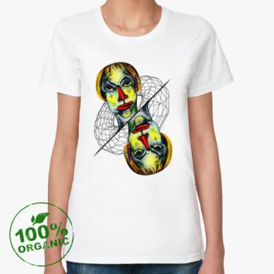 Женская футболка из органик-хлопка Че вылупился?