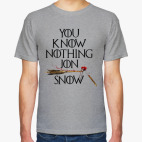 You Know Nothing Jon Snow. Игра Престолов