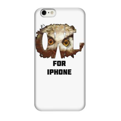 Чехол для iPhone 6/6s Сова. OWL