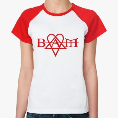 Женская футболка реглан Bam