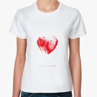Классическая футболка Not AIDS