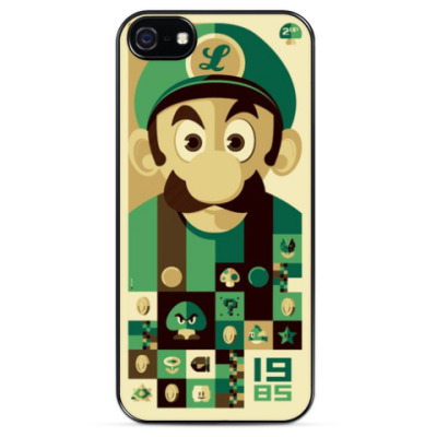 Чехол для iPhone Mario Green
