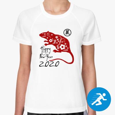 Женская спортивная футболка Год Стальной крысы 2020