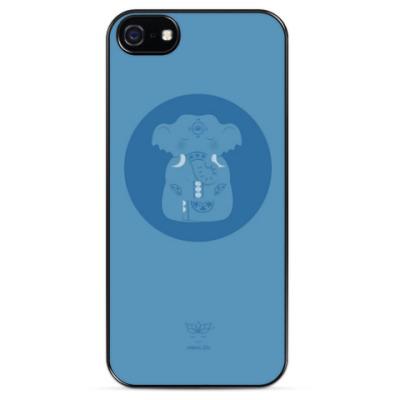 Чехол для iPhone Animal Zen: E is for Elephant