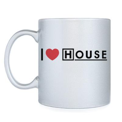 Кружка I love House