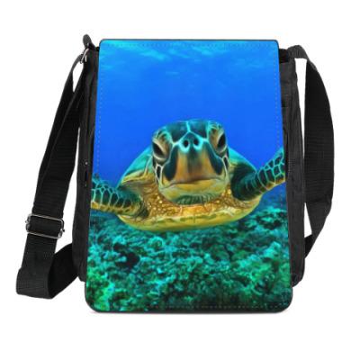Сумка-планшет Черепаха