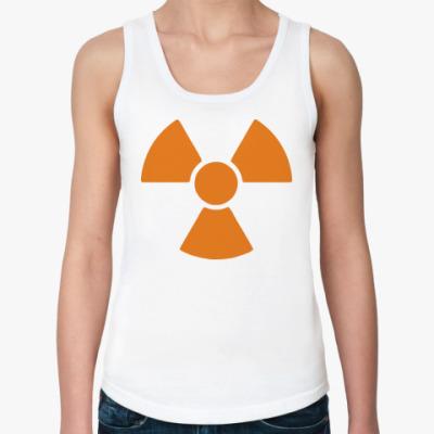 Женская майка radioactive