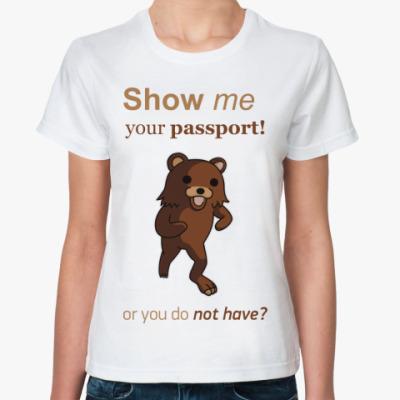 Классическая футболка Педобир