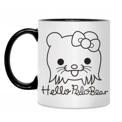 Кружка Hello Pedo Bear