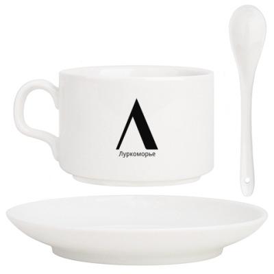 Кофейный набор Лого Луркоморья
