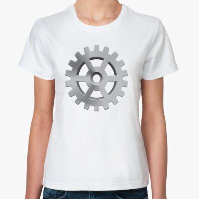 Классическая футболка Шестеренка