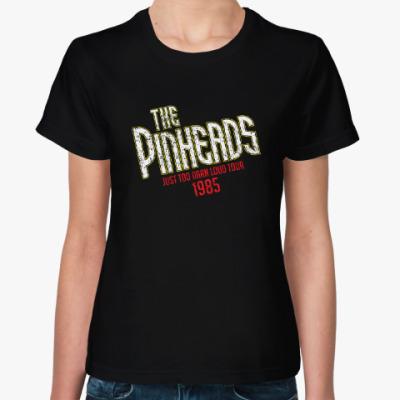 Женская футболка the pinheads