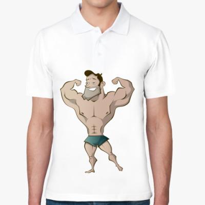 Рубашка поло Качок