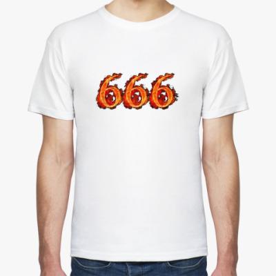 Футболка 666