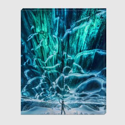 Холст Iceland ice cave