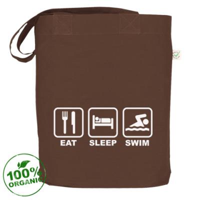Сумка Eat Sleep Swim