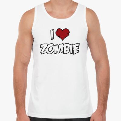 Майка Я люблю зомби
